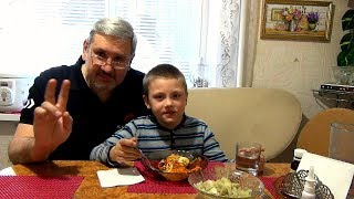 Завтрак для двоих или Шакшука по Запорожски. Мужик на кухне - готовим быстро и вкусно.