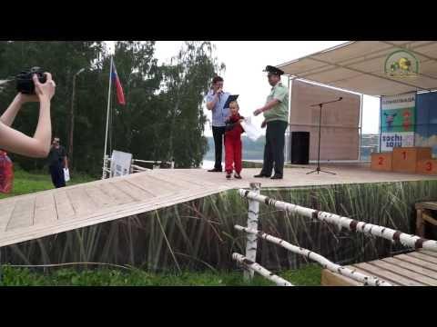 Детский автокросс в Томской Писанице