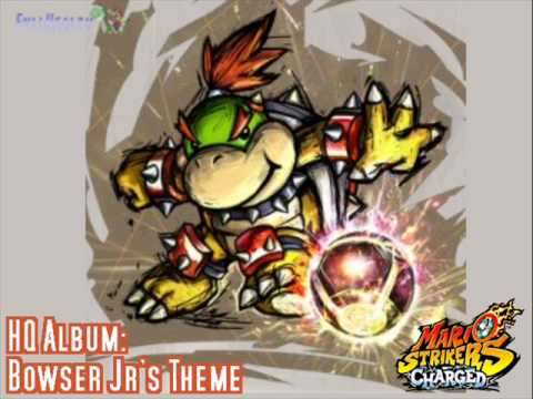 Bowser Jrs Theme HQ Album Mario Strikers Charged