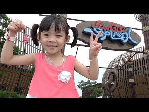 Bé Trải Nghiệm Khu Vui Chơi Thiên Đường Bảo Sơn ❤ AnAn ToysReview TV ❤