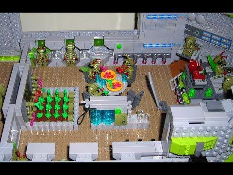 Lego Galaxy Squad MOC: Zemdari Command Bug Ep 2: Interior