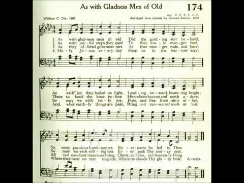 As With Gladness Men Of Old (Dix)