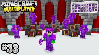 UNLIMITED NETHERITE GEAR in Minecraft Multiplayer Survival! (Episode 33)