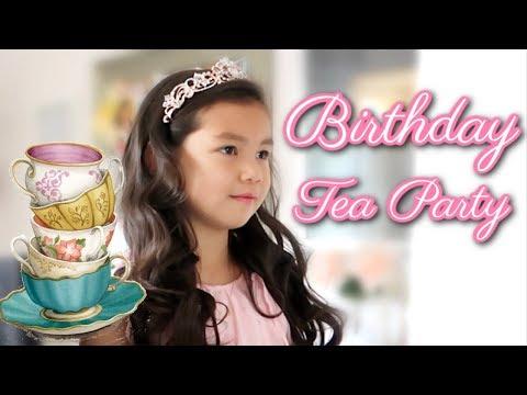 Afternoon Tea Birthday Party! - itsjudyslife thumbnail