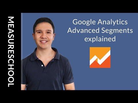 Google Analytics Advanced Segments explained