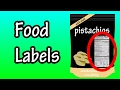 Food Labels - Nutrition Labels - How To Read Food Labels