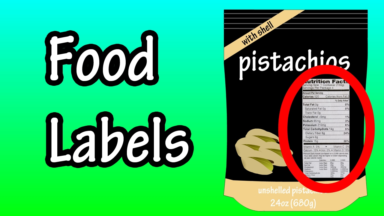 Food Labels - Nutrition Labels - How To Read Food Labels Nutrition Facts