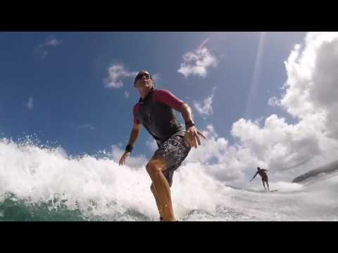SURFING:  McLovin' It on Oahu's South Shore - Part 1