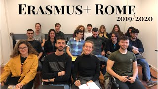 Учеба Erasmus+ в Риме, Learning Agreement, предметы, midterm tests, веселые профессора