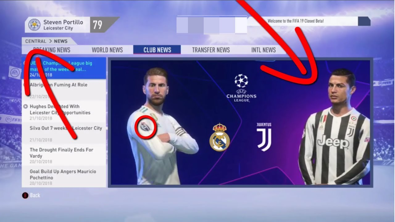 FIRST FIFA 19 BETA CAREER MODE GAMEPLAY!!  3ff0bad8b