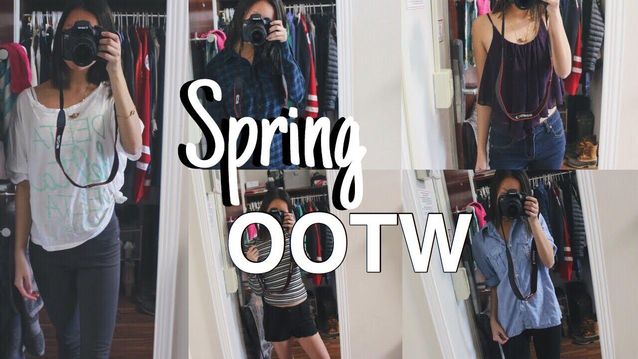 [VIDEO] - Spring OOTW | Spring Lookbook 4