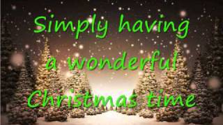Simply Having A Wonderful Christmas Time Paul McCarney - Lyrics