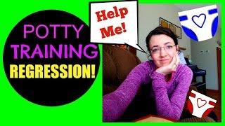 Major Potty Training Regression!  HELP ME!