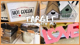 Target | Shop With Me | Valentine's Day 2019 | Farm House Decor | PART 1