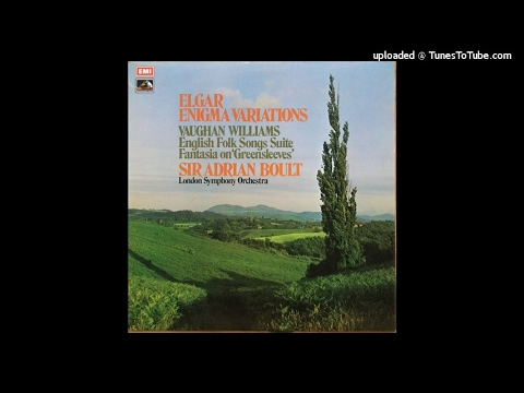 Vaughan Williams : English Folk Song Suite (including Sea Songs) (1923 orch. 1924/1942)