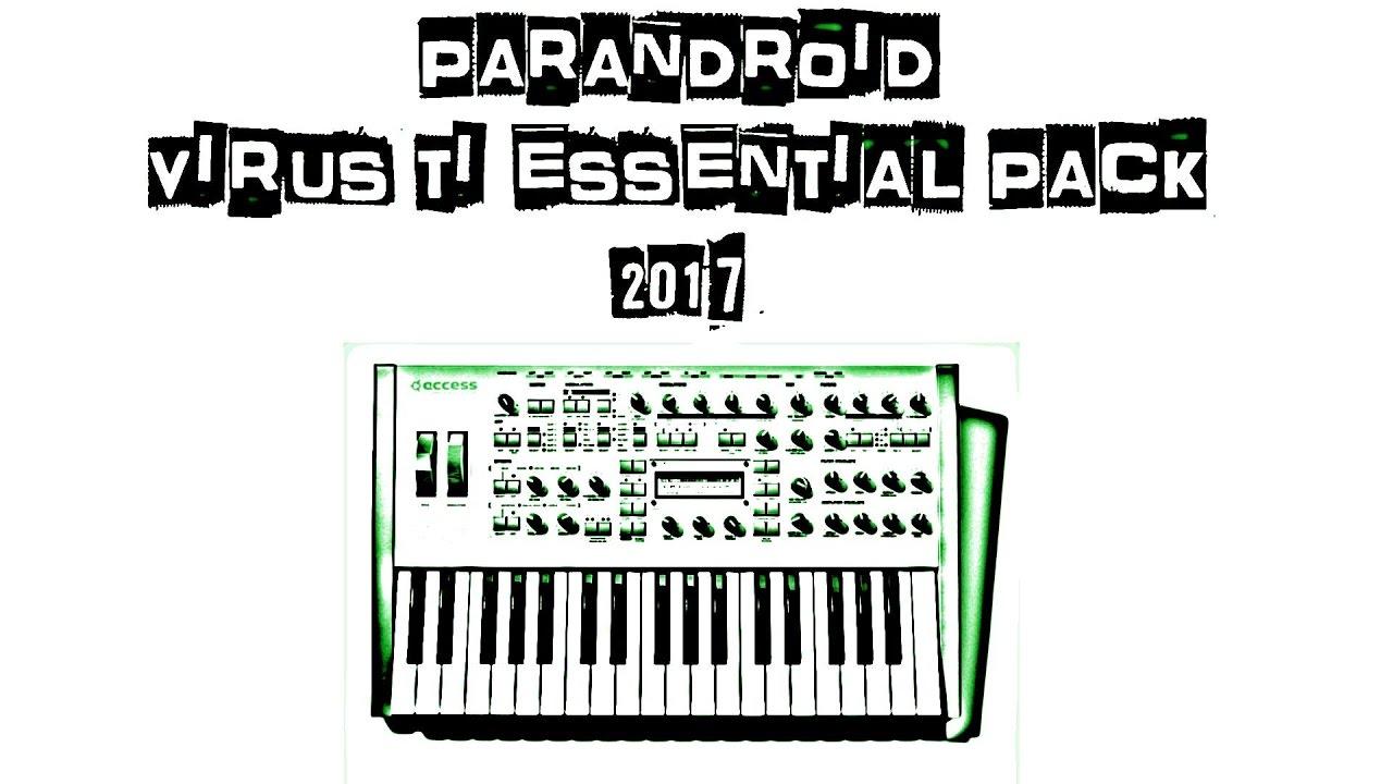 Parandroid Essentials Virus TI 2017 (128 Patches) Video