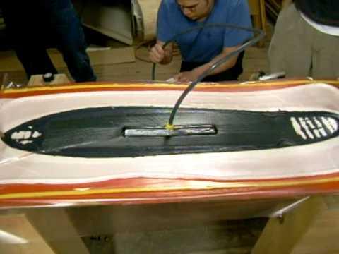 Longboard Skateboard Resin Infusion