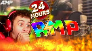 𝐀𝐌𝐏⚡ CREATES A SONG IN 24 HOURS And it's GOOD!  (Reaction Video) Ft Agent 00 @AMP