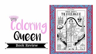 Pictura  - Travelogue - Adult Coloring Book Review