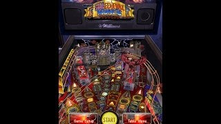 Pinball Arcade - Medieval Madness (Portrait Mode) PC Gameplay