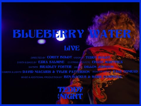 BLUEBERRY WATER LIVE