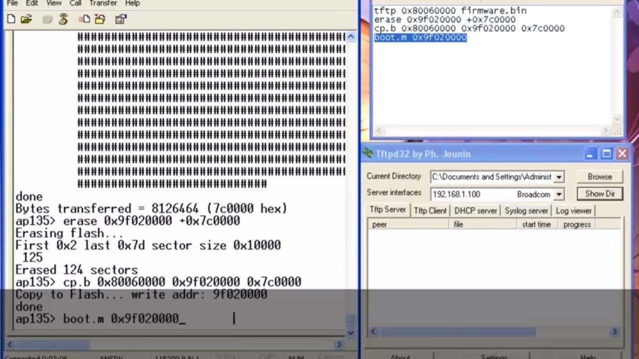 Hướng dẫn unbrick/debrick router TP-LINK WR1043ND V2 bằng serial