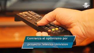 Televisa-Univision alcanzará ventas conjuntas estimadas de 4 mil millones de dólares y un EBITDA por mil 600 millones de dólares, con un margen mayor al 40% post-sinergias derivadas de la integración, detalla la empresa