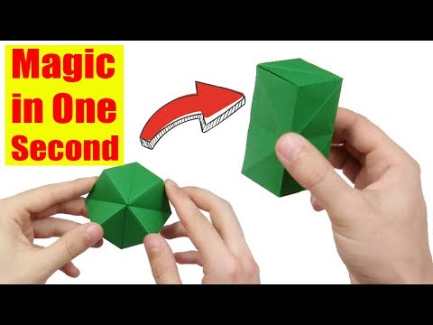How to make an Origami Spike Ball - YouTube | 360x480
