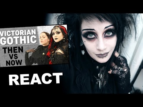 Goth Reacts to Victorian Gothic Then vs Now   Black Friday