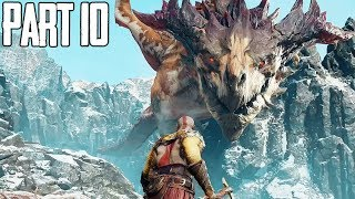 INSANE DRAGON FIGHT..! - God of War Walkthrough Gameplay Part 10