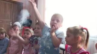 Шоу мыльных пузырей Новокузнецк на детский день рождения в дс