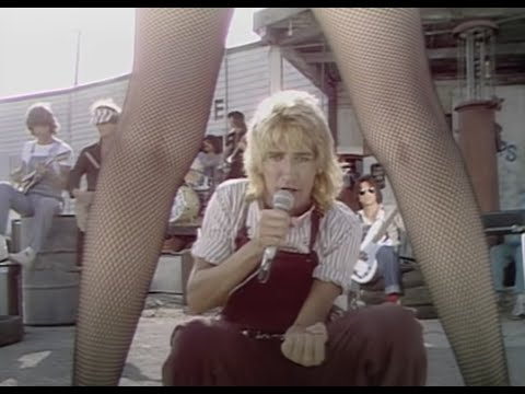 Rod Stewart - Hot Legs (Official Video)