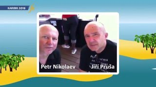 J. Pruša a P. Nikolaev - Ostrov Svatý Martin 23. 3. 2016