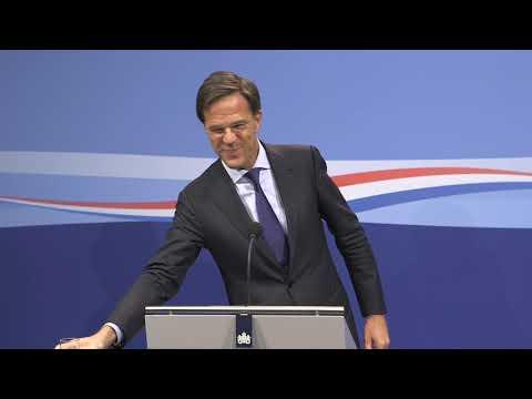 Integrale persconferentie MP Rutte 28 september 2018