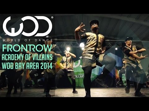 Academy of Villains Exhibition | FRONTROW | World of Dance #WODBay '14
