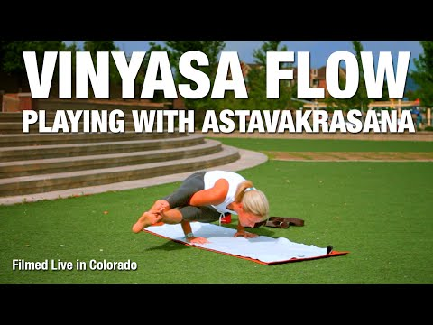 Playing with Astavakrasana Yoga Class - Five Parks Yoga
