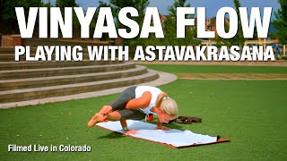 Playing with Astavakrasana Yoga Class - Five Parks Yoga
