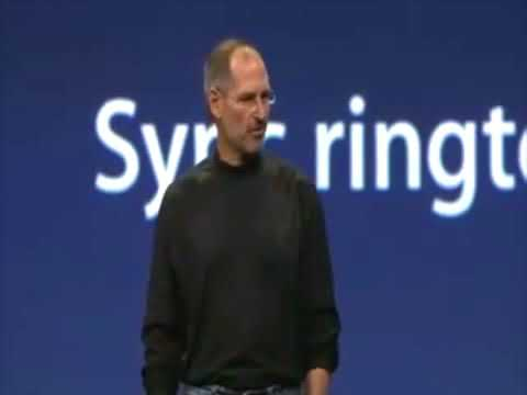 Steve Jobs introduces iPod Touch  iTunes Wi Fi Store - Apple