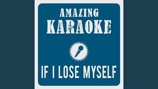 If I Lose Myself (Karaoke Version) (Originally Performed By OneRepublic)