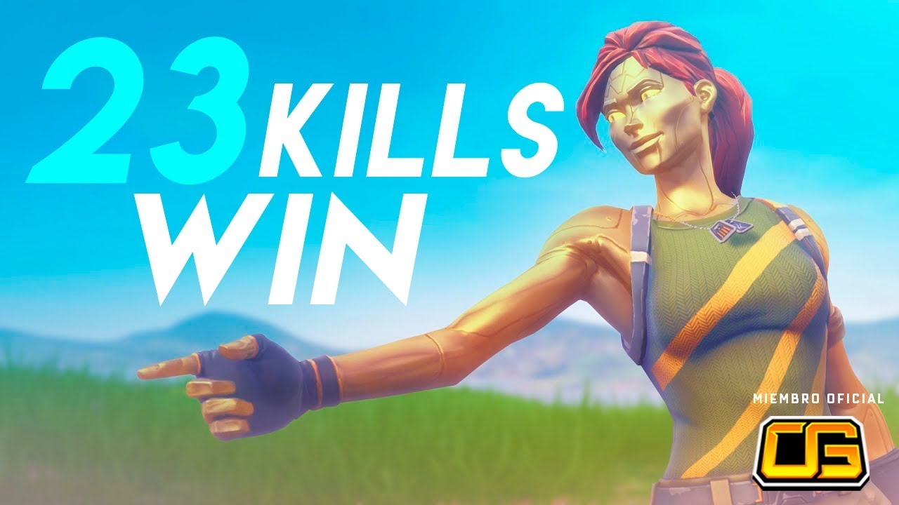 23 Kills Win Jugando Agresivo Wazzxr Fortnite Argentina Youtube