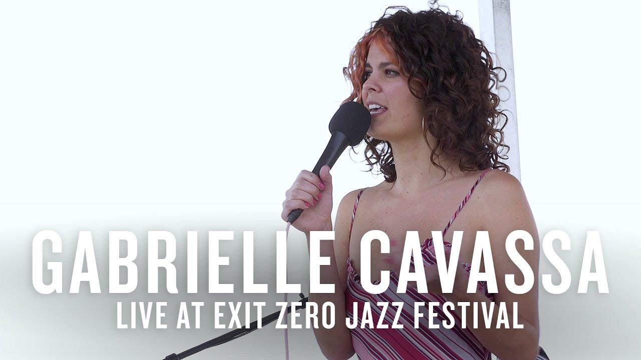Gabrielle Cavassa live at the Exit Zero Jazz Festival   JAZZ NIGHT IN AMERICA