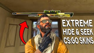 EXTREME HIDE AND SEEK WITH CS:GO SKINS! (Ft. Anomaly, Haix, Senzura)