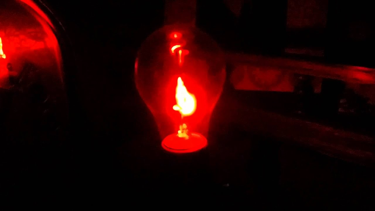 Flickering flame light bulb - YouTube