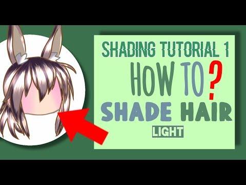 How To Shade Light Hair! - IbisPaint X - Gacha Shading Tutorial #1 #1