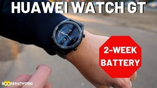 Huawei Watch GT: Two Week Battery Life is Real!!