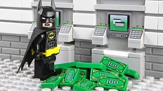 Lego Batman ATM Robbery
