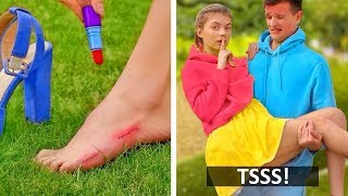 TOP FUNNY DIY PRANKS! Easy DIY Pranks on Friends & Girls