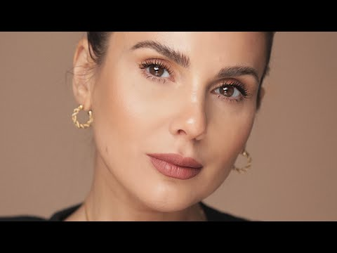 Very soft bronzy makeup tutorial, mask friendly as well | ALI ANDREEA