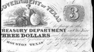 Republic of Texas Currency, Feb. 26, 1839