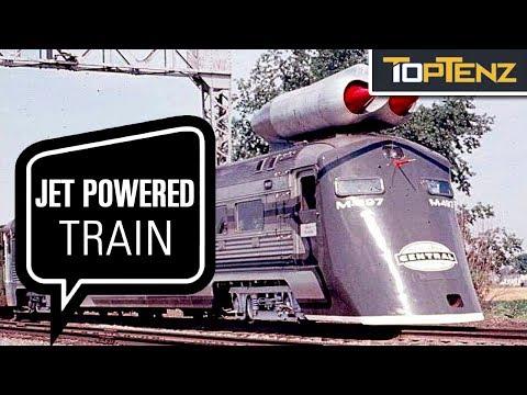 10 Crazy Trains That Had Prototypes Built